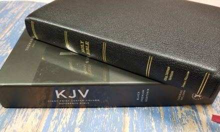 Premier Collection Giant Print Reference KJV Bible Review