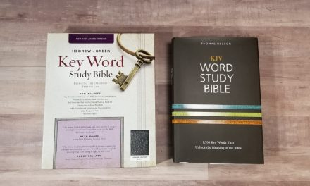 Ask Bible Buying Guide: Hebrew Greek Keyword Study Bible vs Word Study Bible