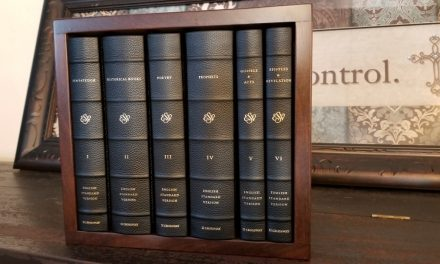 Crossway's ESV Reader's Bible, Six-Volume Set in Cowhide