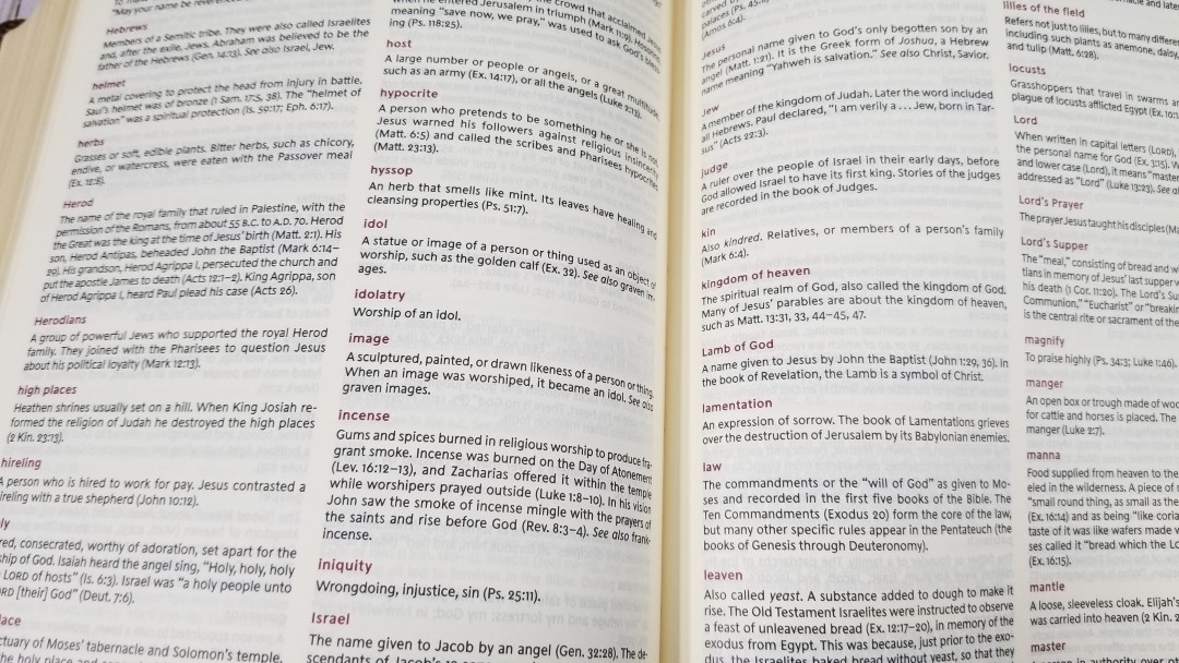 KJV Journal the Word Reference Bible Review - Bible Buying Guide