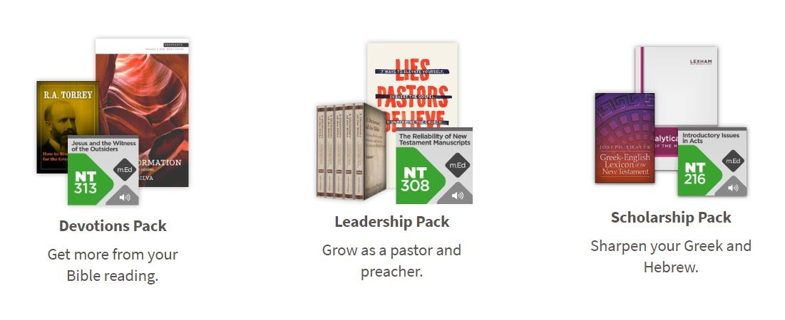 Get a Free Bible Study Bundle with a Free Trial of Faithlife Connect