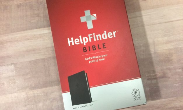 NLT HelpFinder Bible Review