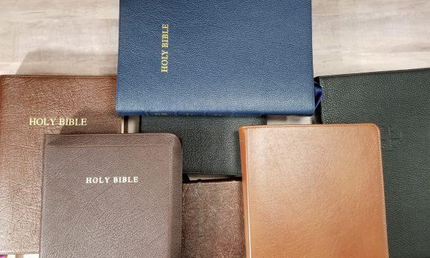 Choosing My Preaching Bible part 4 – references
