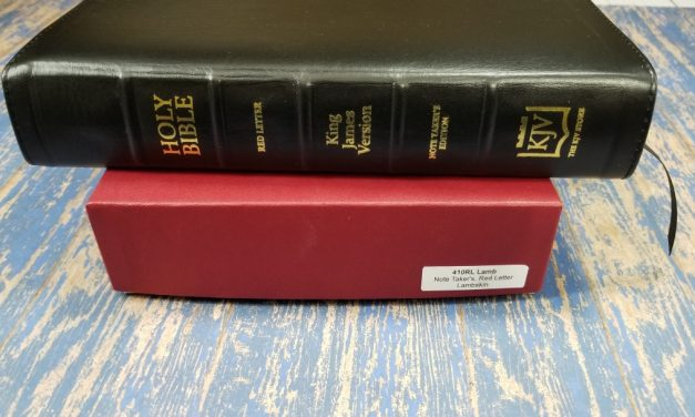 The KJV Store Notetakers Bible Review