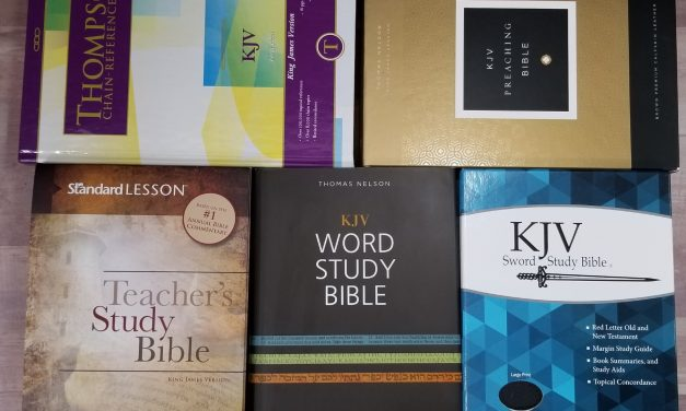 Choosing My Preaching Bible part 6 – Study Bibles