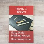Easy Bible Marking Guide in Print and on Kindle