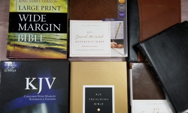 Choosing My Preaching Bible part 7 – wide margin Bibles