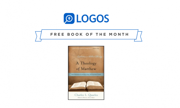 Logos Free Book and Deals – April 2019