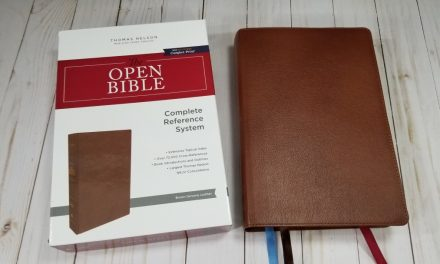 The Open Bible NKJV – Review