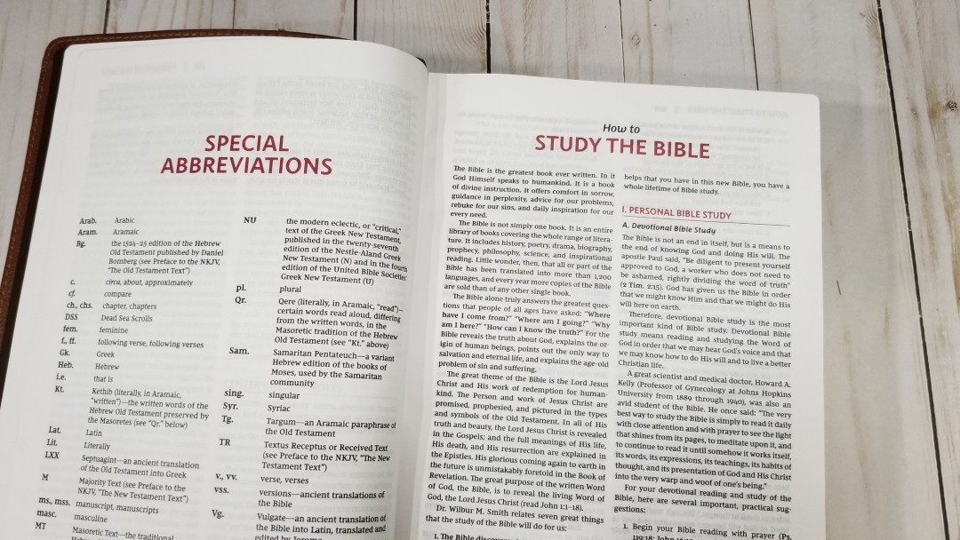 The Open Bible NKJV - Review - Bible Buying Guide