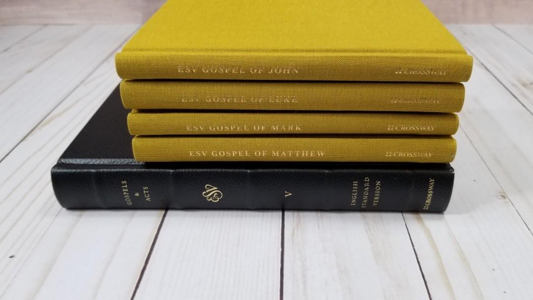ESV Gospels Reader's Set - Review - Bible Buying Guide