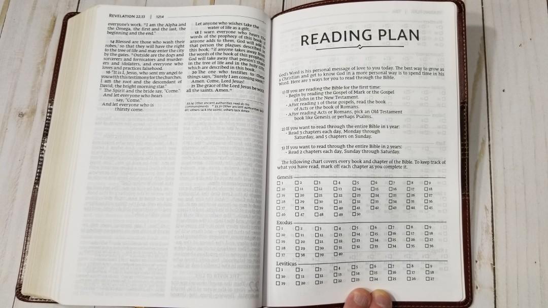 Zondervan NRSV Thinline Large Print Bible Review - Bible