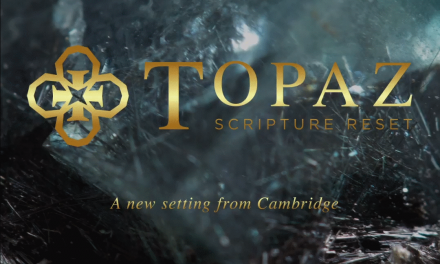 Coming Soon: Cambridge Topaz