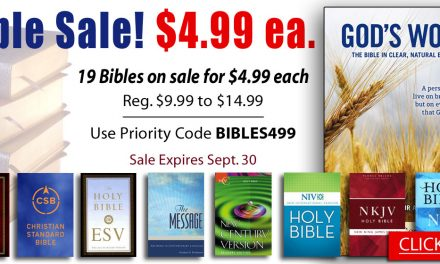 Bible Deals September 20, 2019