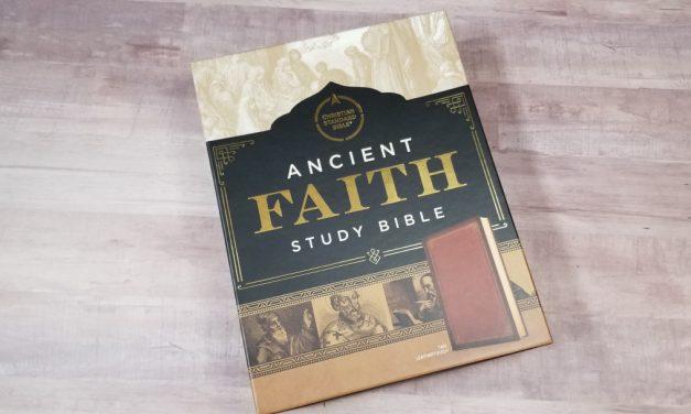 CSB Ancient Faith Study Bible