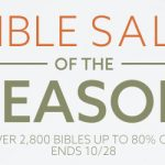 Bible Deals October 25, 2019