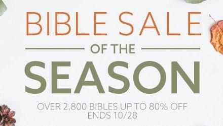 Bible Deals October 25, 2019