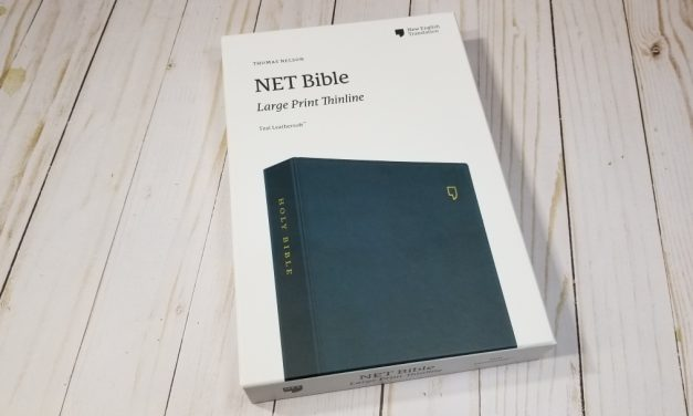 NET Bible Large Print Thinline Review