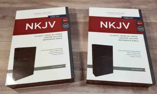 NKJV Classic Verse-by-Verse Center-Column Comfort Print Reference Bible
