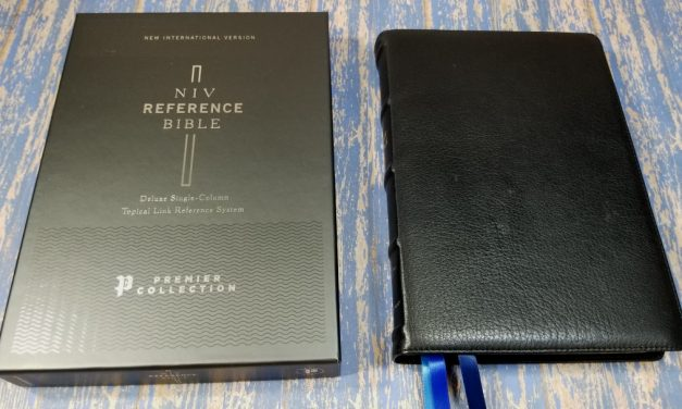 NIV Deluxe Single-Column Reference Bible Premier Collection Review