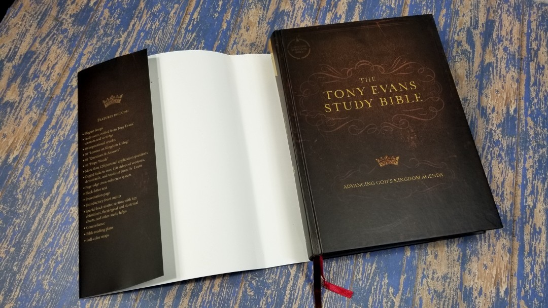 Tony Evans Study Bible 3 Bible Buying Guide