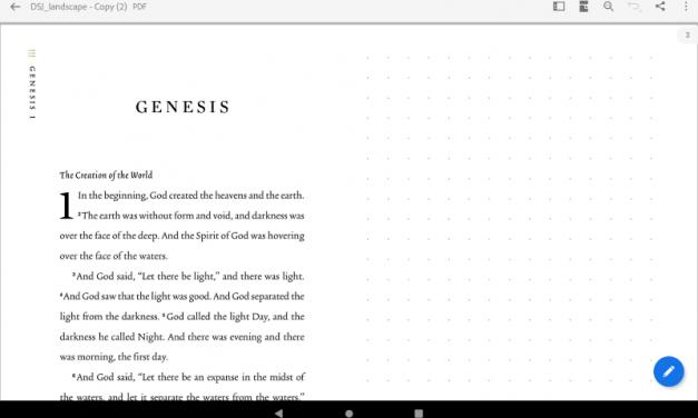 ESV Digital Scripture Journal