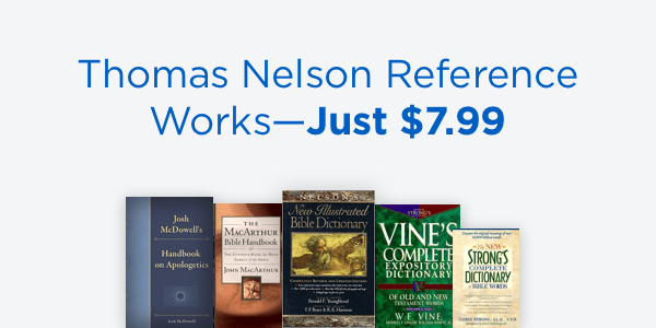 Logos Sale – Thomas Nelson Reference Works