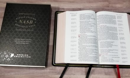 NASB Single-Column Reference Bible (Premier Collection) Review