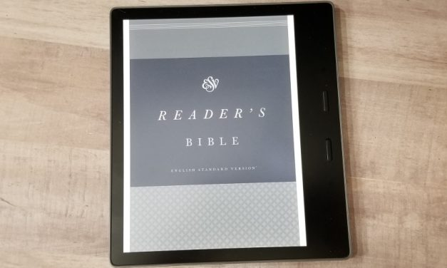 ESV Reader's Bible Kindle Edition