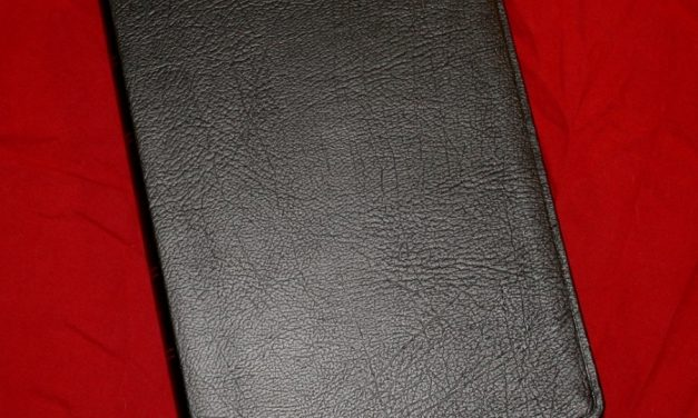 Crossway's Wide Margin Reference Bible ESV in Black Genuine Leather – Review