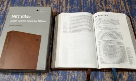 NET Bible Single Column Reference Edition Review