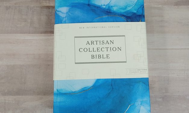 NIV Artisan Collection Bible Review