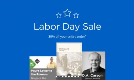 Logos Labor Day Sale