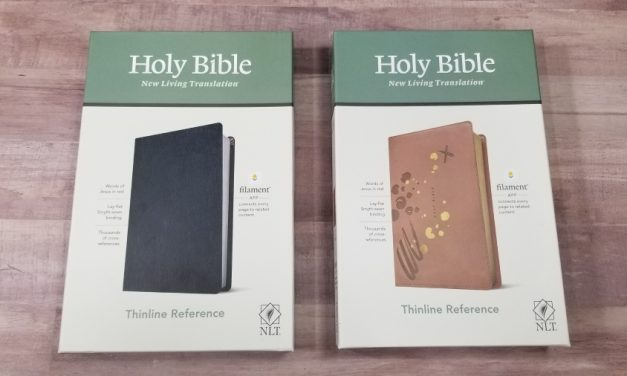 NLT Thinline Reference Bible, Filament-Enabled Edition