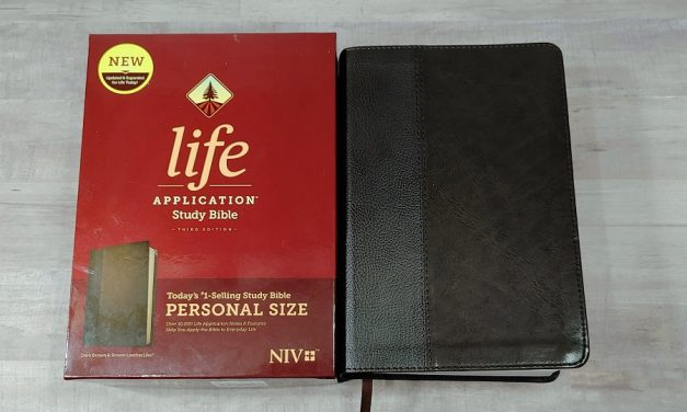 Personal Size NIV Life Application Study Bible