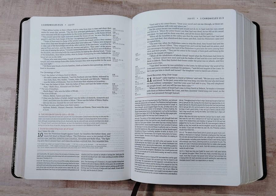 Personal Size NIV Life Application Study Bible Paper