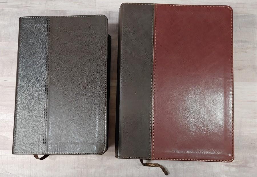 Personal & Regular Size NIV Life Application Study Bible Comparison Covers