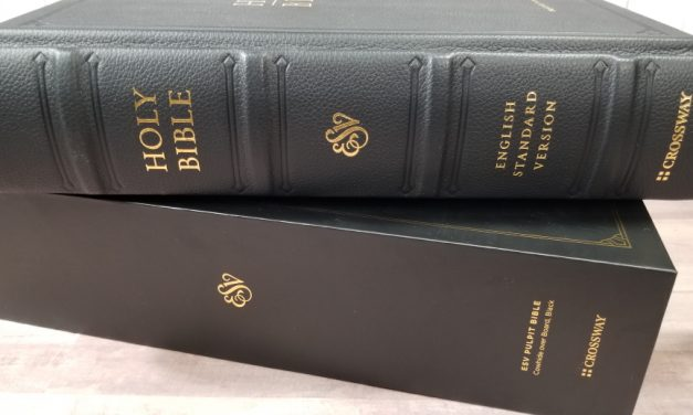 ESV Pulpit Bible Review