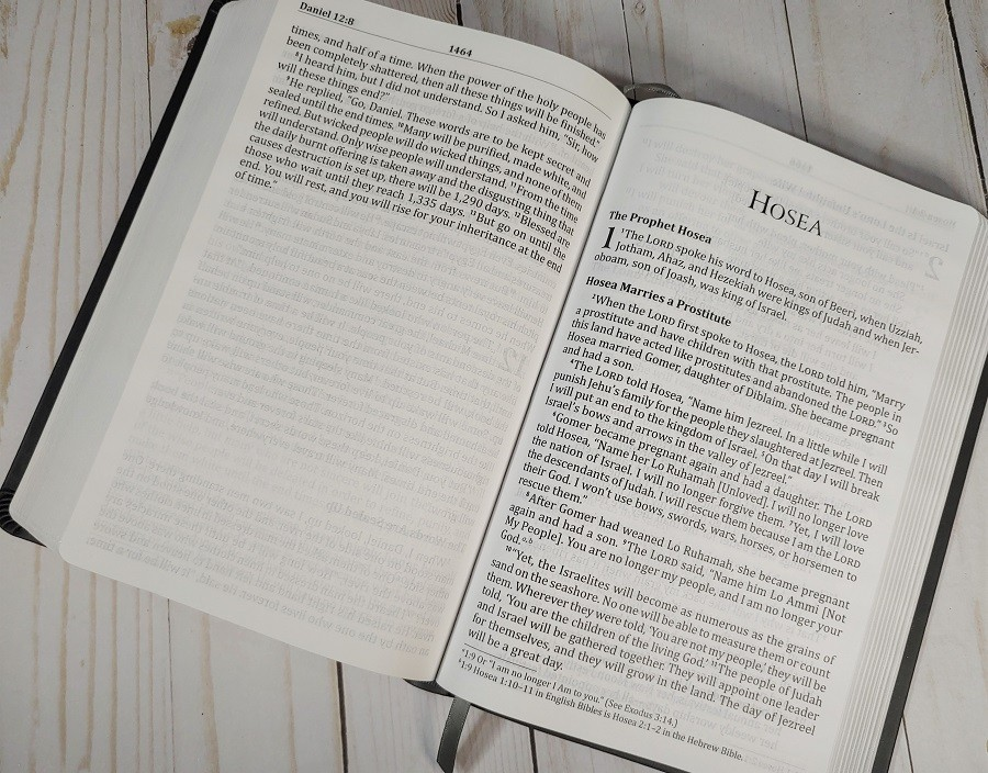 God's Word Deluxe Large Print Bible Paper