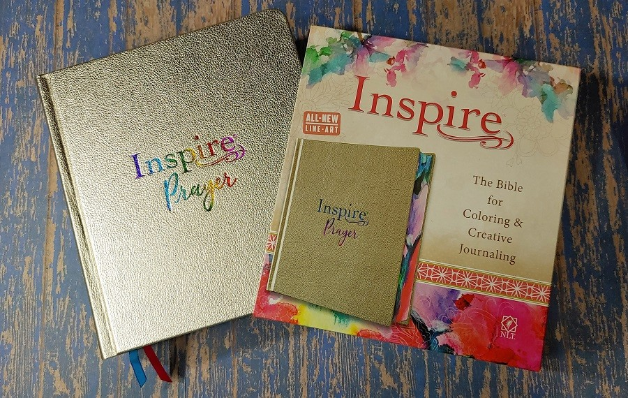 Inspire Prayer Bible Cover and Box