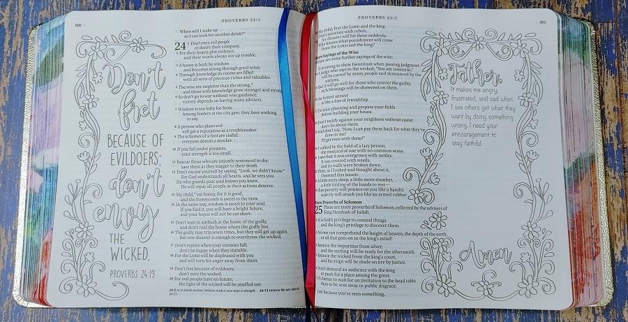 Inspire Prayer Bible