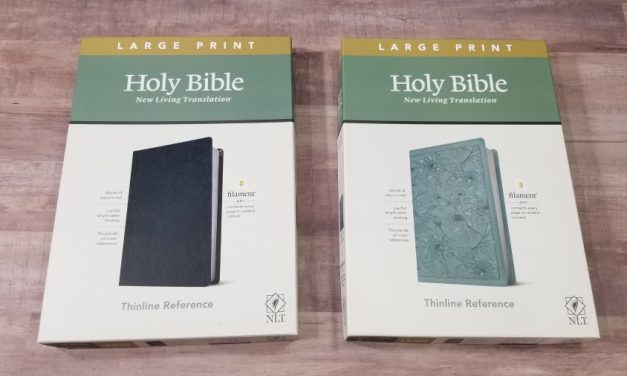 NLT Large Print Thinline Reference Bible, Filament-Enabled Edition