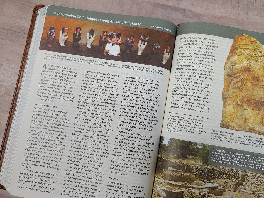 CSB Holy Land Illustrated Bible Article