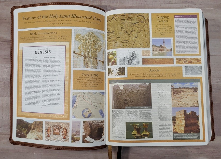 Features of the CSB Holy Land Illustrated Bible