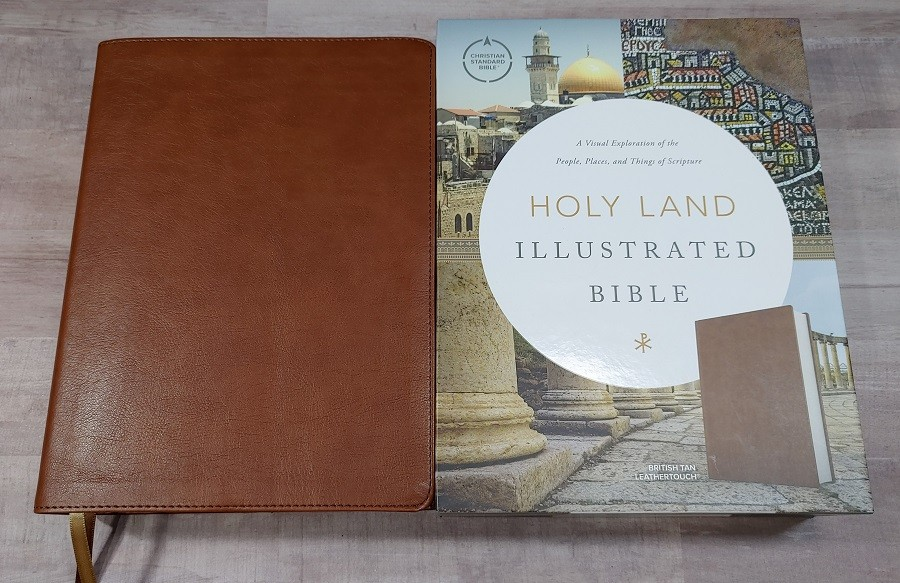 CSB Holy Land Illustrated Bible Cover and Slipcover