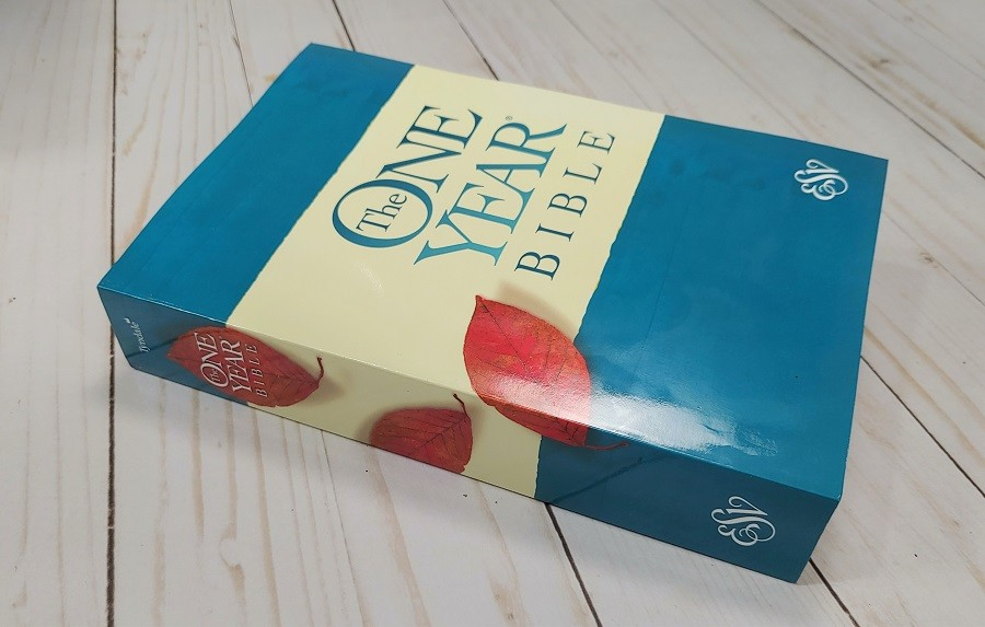 ESV One Year Bible Cover