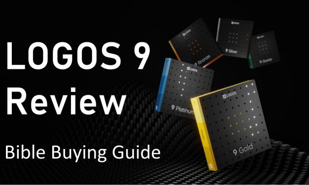 Logos 9 Bible Software Review