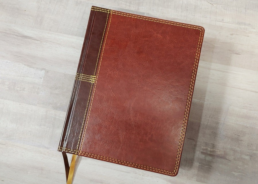 NASB Journal the Word Reference Bible Cover