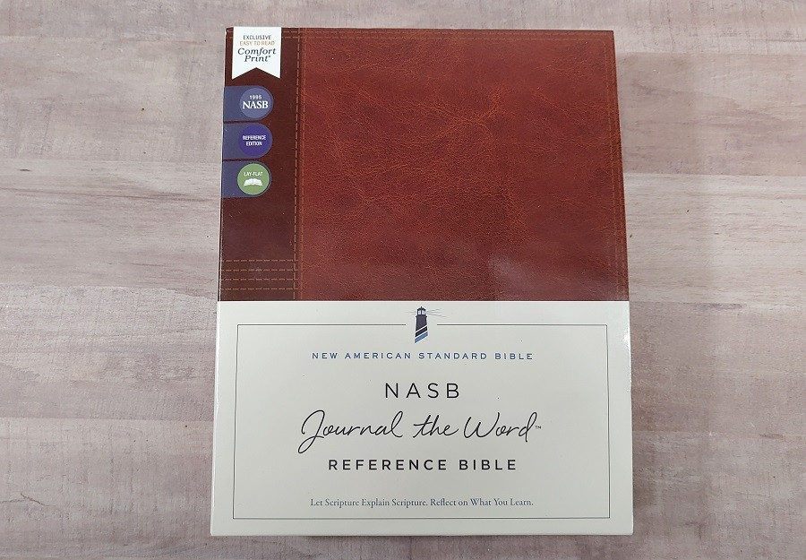 NASB Journal the Word Reference Bible Box