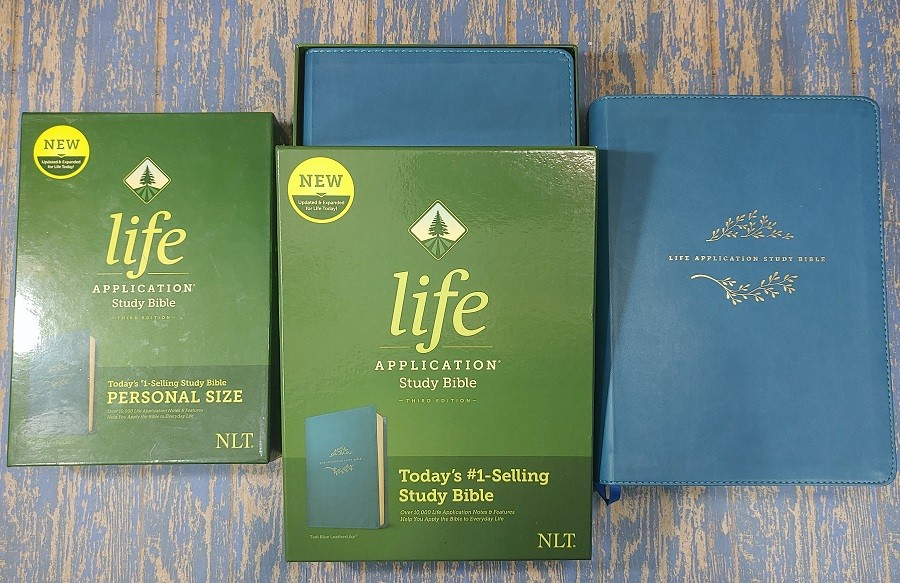 Life Application Study Bible Covers and Boxes